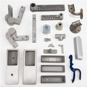 Casting parts for pocket door, handle, latch